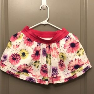 Justice flower skirt with pockets